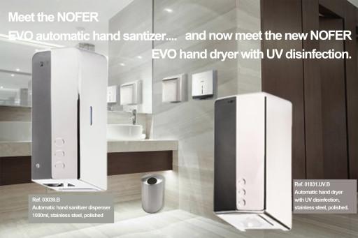 EVO dispenser + EVO Fuga UV hand dryer.jpg