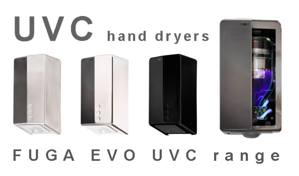 Which is the best hand dryer with UVC light disinfection?